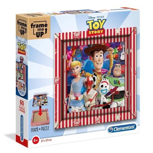 Taulupalapeli 60 palaa + kehys Toy Story Clementoni