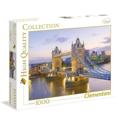 Palapeli 1000 palaa Tower Bridge Clementoni