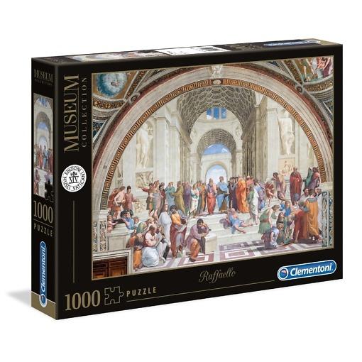 Palapeli 1000 palaa Ateenan koulu Clementoni