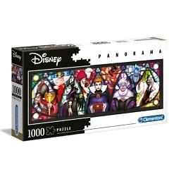 Panorama-palapeli 1000 palaa Disney roistot Clementoni