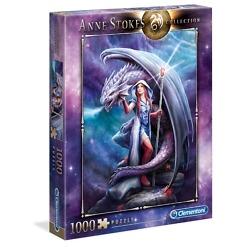 Palapeli 1000 palaa Anne Stokes Dragon Mage Clementoni