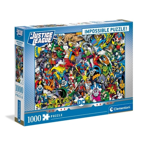 Palapeli 1000 palaa Justice League Clemetoni
