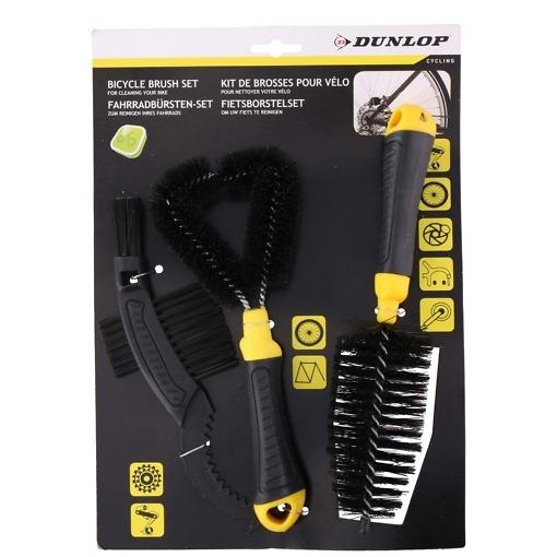 Polkupyörän puhdistussetti 3 osaa Dunlop
