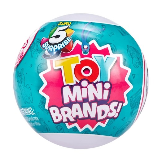 Yllätyspallo 5 Surprise Mini Brands Toy