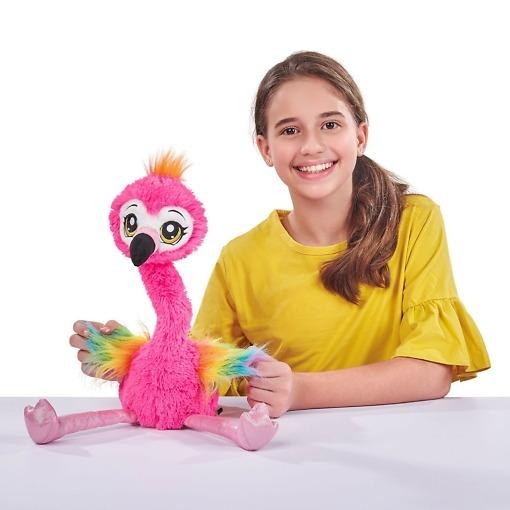 Pehmolelu Frankie Flamingo Pets Alive
