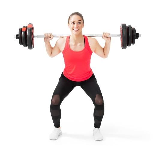 Bodypump setti 20 kg Atom