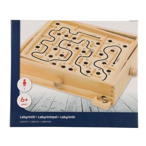 Labyrintti peli puinen