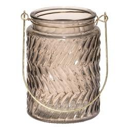 Kynttiläkuppi harmaa Stella 13.5 cm 4Living