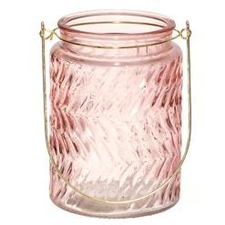 Kynttiläkuppi vaaleanpunainen Stella 13.5 cm 4Living