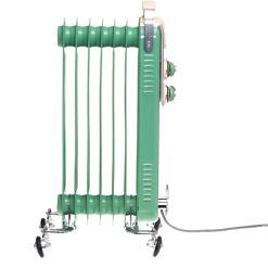 Öljylämmitin retro vihreä 1500W Bellus
