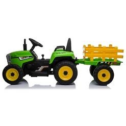 Sähkötoiminen traktori peräkäry ZH