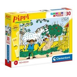 Palapeli 30 palaa Peppi Pitkätossu Clementoni