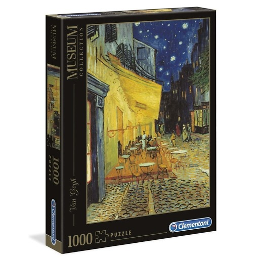 Pala peli Van Gogh Cafe Terrace at night
