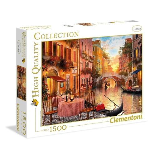 Palapeli 1500 palaa Venetsia Clementoni