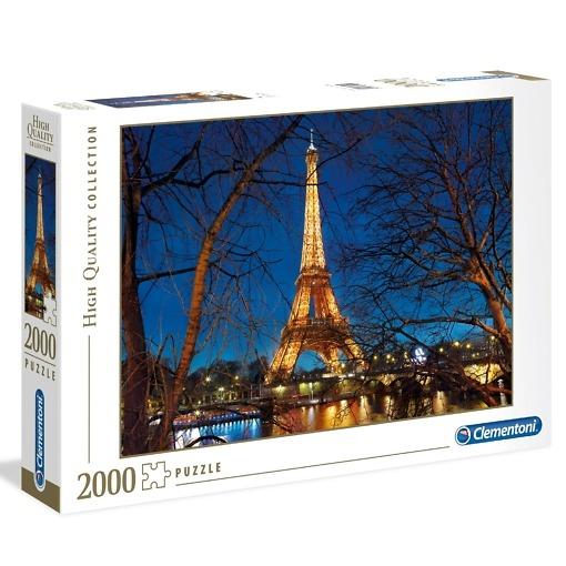 Palapeli 2000 palaa Pariisi Clementoni