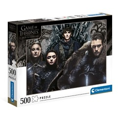 Palapeli 500 palaa Game Of Thrones Clementoni