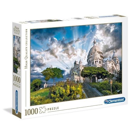Palapeli 1000 palaa Montmartre Clementoni