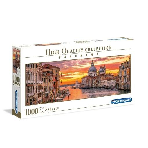 Panorama-palapeli 1000 palaa Canal Grande Clementoni