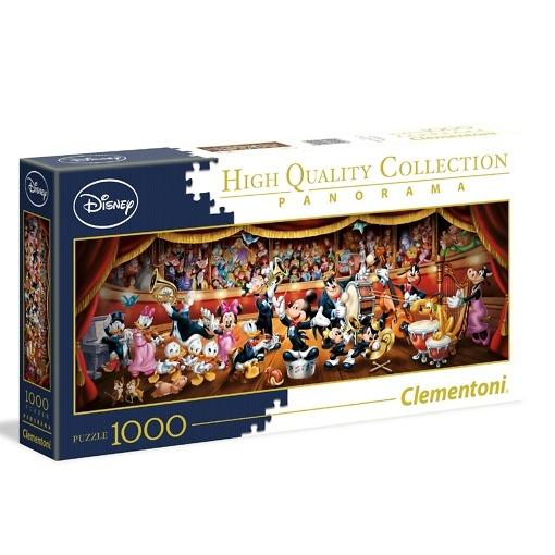 Panorama-palapeli 1000 palaa Disney Orchestra Clementoni