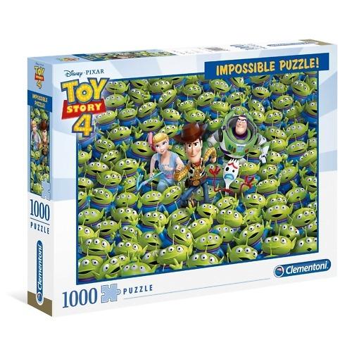 Palapeli 1000 palaa Impossible Toy Story 4 Clementoni