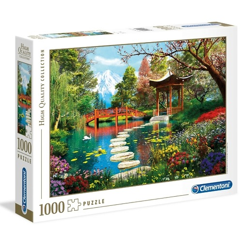 Palapeli 1000 palaa Fuji Clementoni