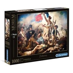 Palapeli 1000 palaa Museum Vapaus johtaa kansaa Clementoni