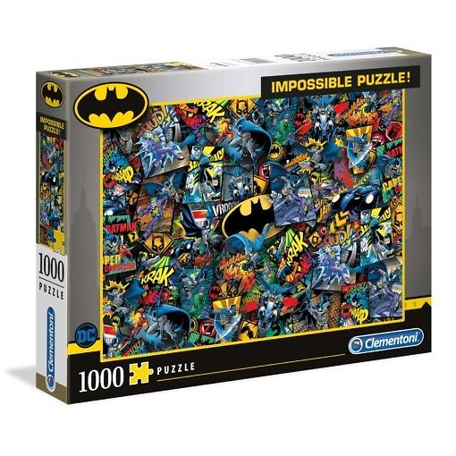Palapeli 1000 palaa Impossible Batman Clementoni