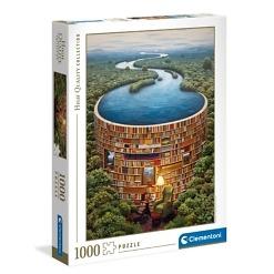 Palapeli 1000 palaa Bibliodame Clementoni