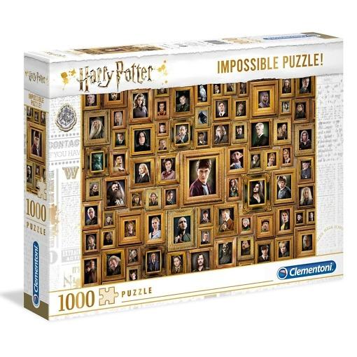 Palapeli 1000 palaa Impossible Harry Potter Clementoni