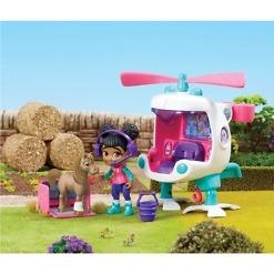 Helikopteri ja hahmot Vet Squad
