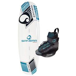 Wakeboard säädettävillä siteillä Spinera Good Lines 140