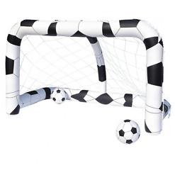 Jalkapallomaali ja pallot Bestway