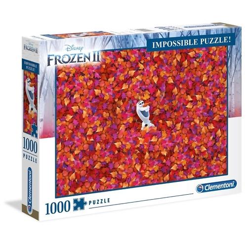 Palapeli 1000 palaa Frozen 2 Clementoni
