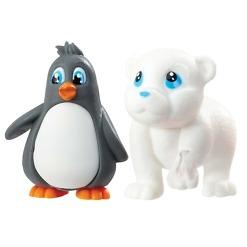 Pingviini ja jääkarhu eläinhahmot Vet Squad