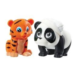 Tiikeri ja panda eläinhahmot Vet Squad