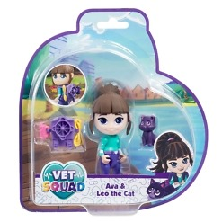 Eläinlääkäri Ava ja Leo kissa Vet Squad