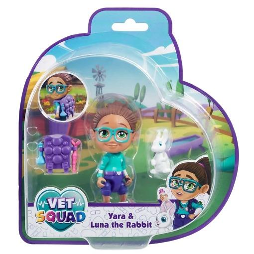 Eläinlääkäri Yara ja Luna jänis Vet Squad