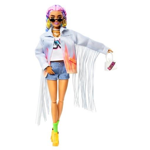 Muotinukke ja lemmikki Barbie Extra