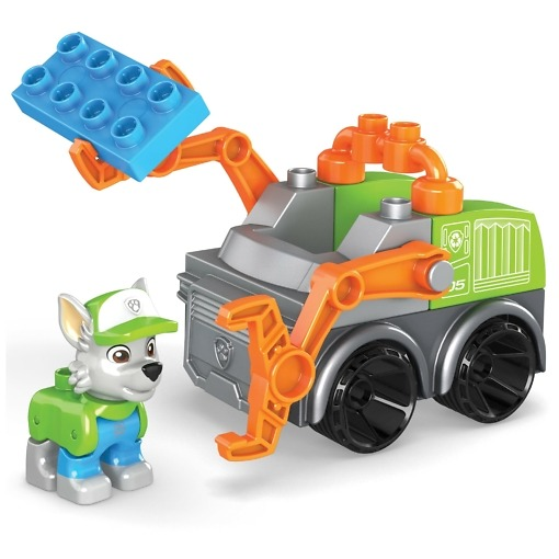 Koottava Rekun kierrätysauto Mega Bloks