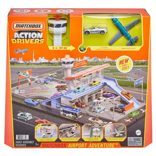 Lentoasema leikkisetti Matchbox
