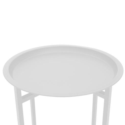 Tarjotinpöytä valkoinen 4Living