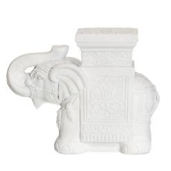 Kukkapöytä Elefantti valkoinen 4Living