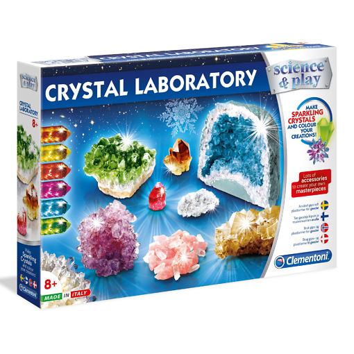 Kristallinvalmistussetti Crystal Laboratory Clementoni