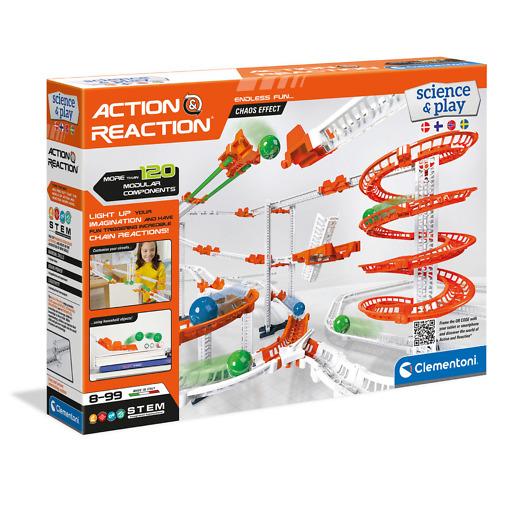 Action & Reaction tutkimussetti Clementoni