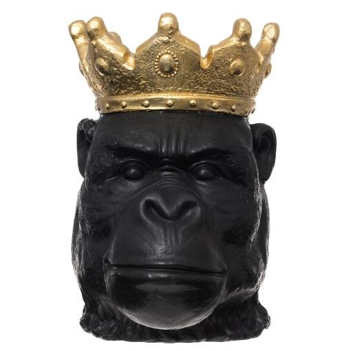Ulkoruukku Gorilla musta 39 cm 4Living