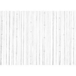 Naruverho valkoinen 90x200 cm 4Living Pearl