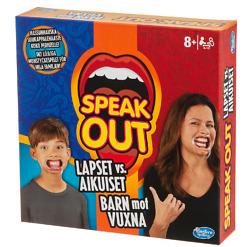 Hasbro Gaming Speak Out Kids vs. Parents peli SE/FI