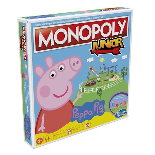 Monopoly Junior Pipsa Possu lautapeli Hasbro Gaming