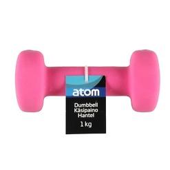 Käsipaino 1 kg neopreeni Atom