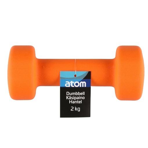 Käsipaino 2 kg neopreeni Atom